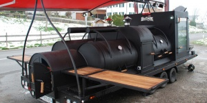 XXL BBQ - Taufe Smokerbeast