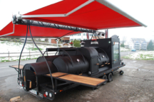 Taufe des XXL BBQ Smokerbeast
